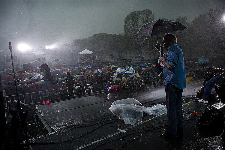 Chevy Chase Faces Rapid Climate Change : Earth Day on the Mall : DC
