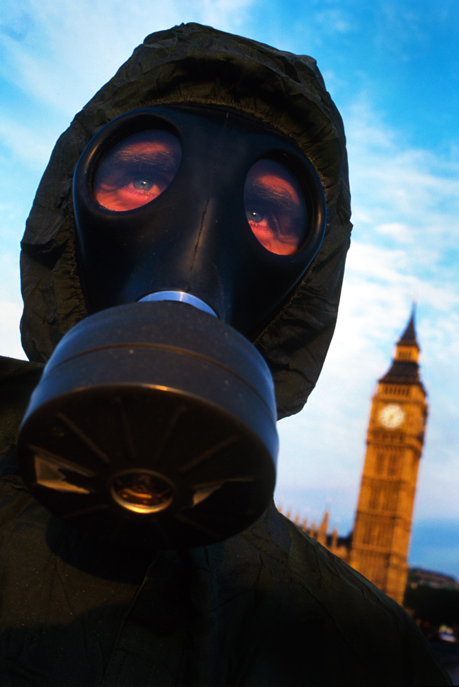 Chemical Attacks and British Politics : Westminster : London UK