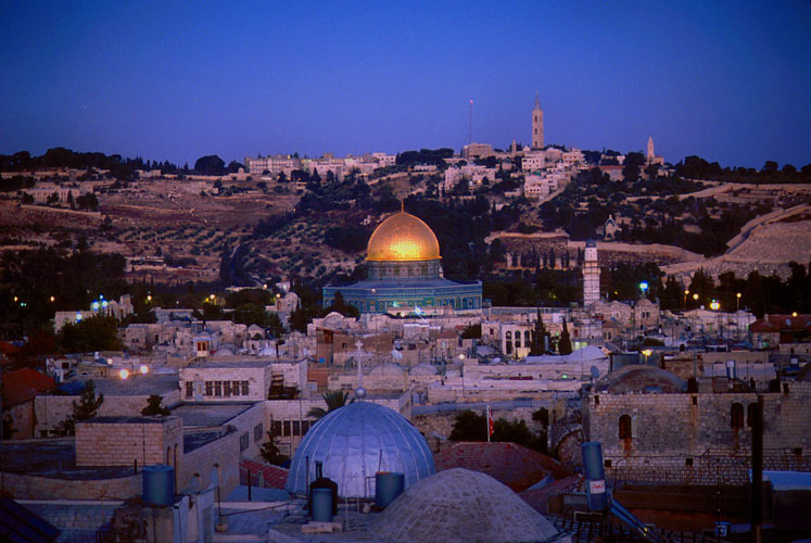 The Holy City :  Old City of Jerusalem : Israel
