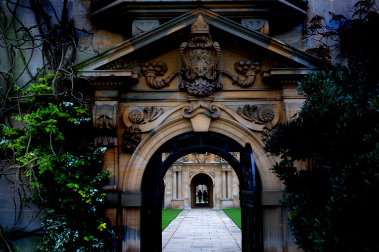 St Johns College Oxford : UK : Posted New York