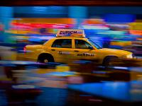 Taxi in the Bar Grand Central : Outside Bar Campbell Apartment : NYC