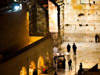 Western Wall : Old City of Jerusalem : Israel