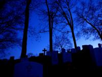Blue Cross : Arlington National Cemetery : Virginia